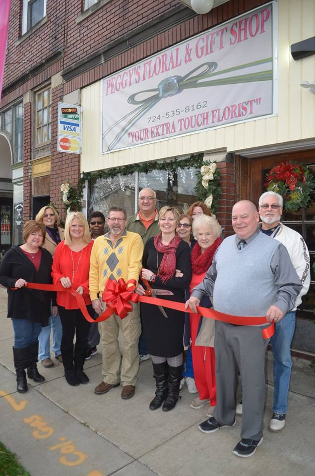 Peggy's Floral - Ribbon Cutting