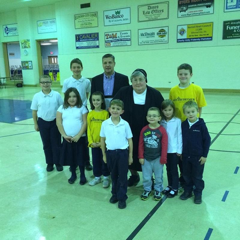 1-24-16 Holy Redeemer School