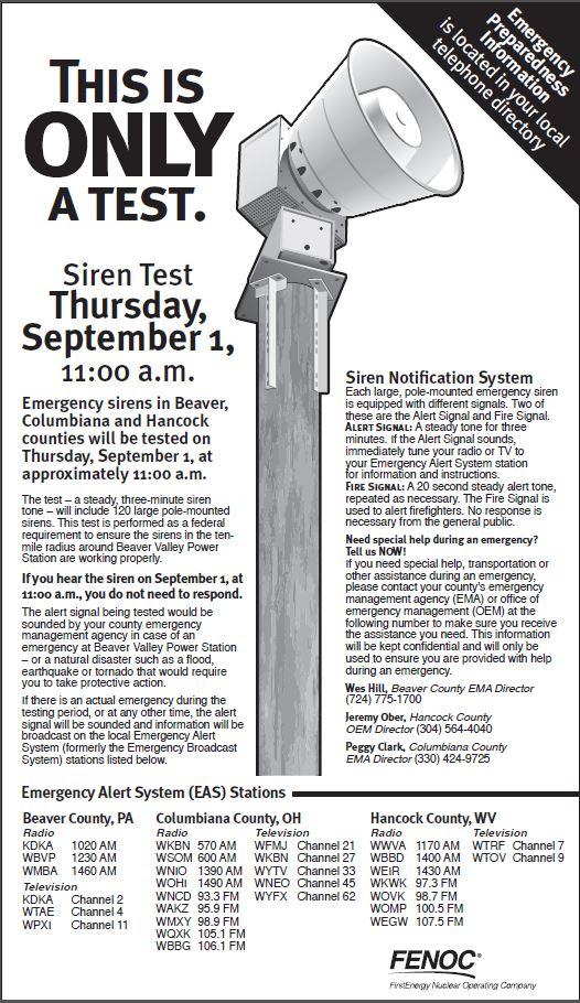 2016 FENOC Siren Test (2)