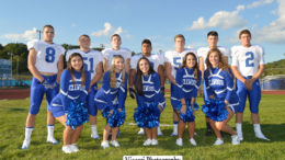 sr. players and cheer
