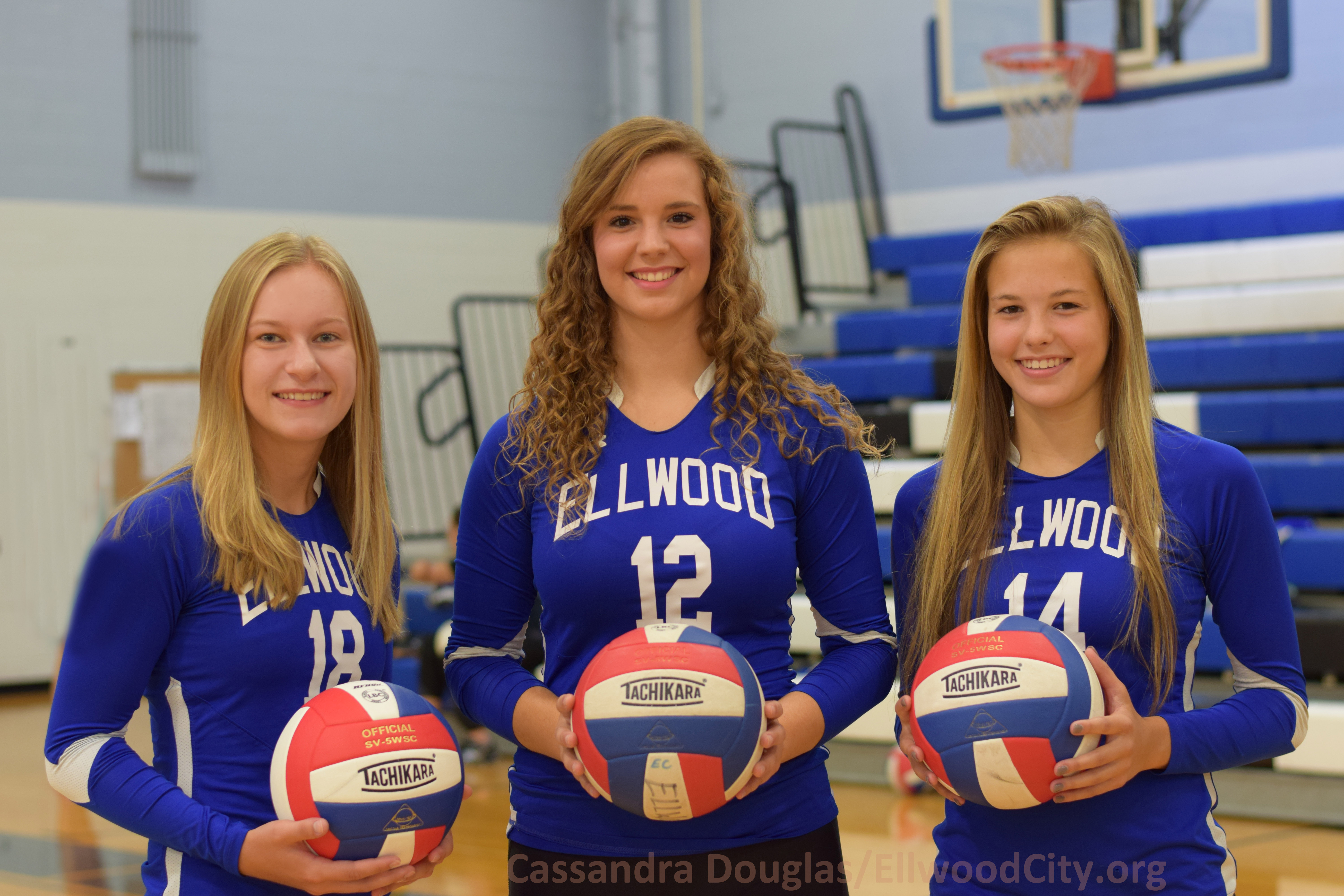Left to right: Megan Sigfried, Erica Walley, Brooklyn Magill