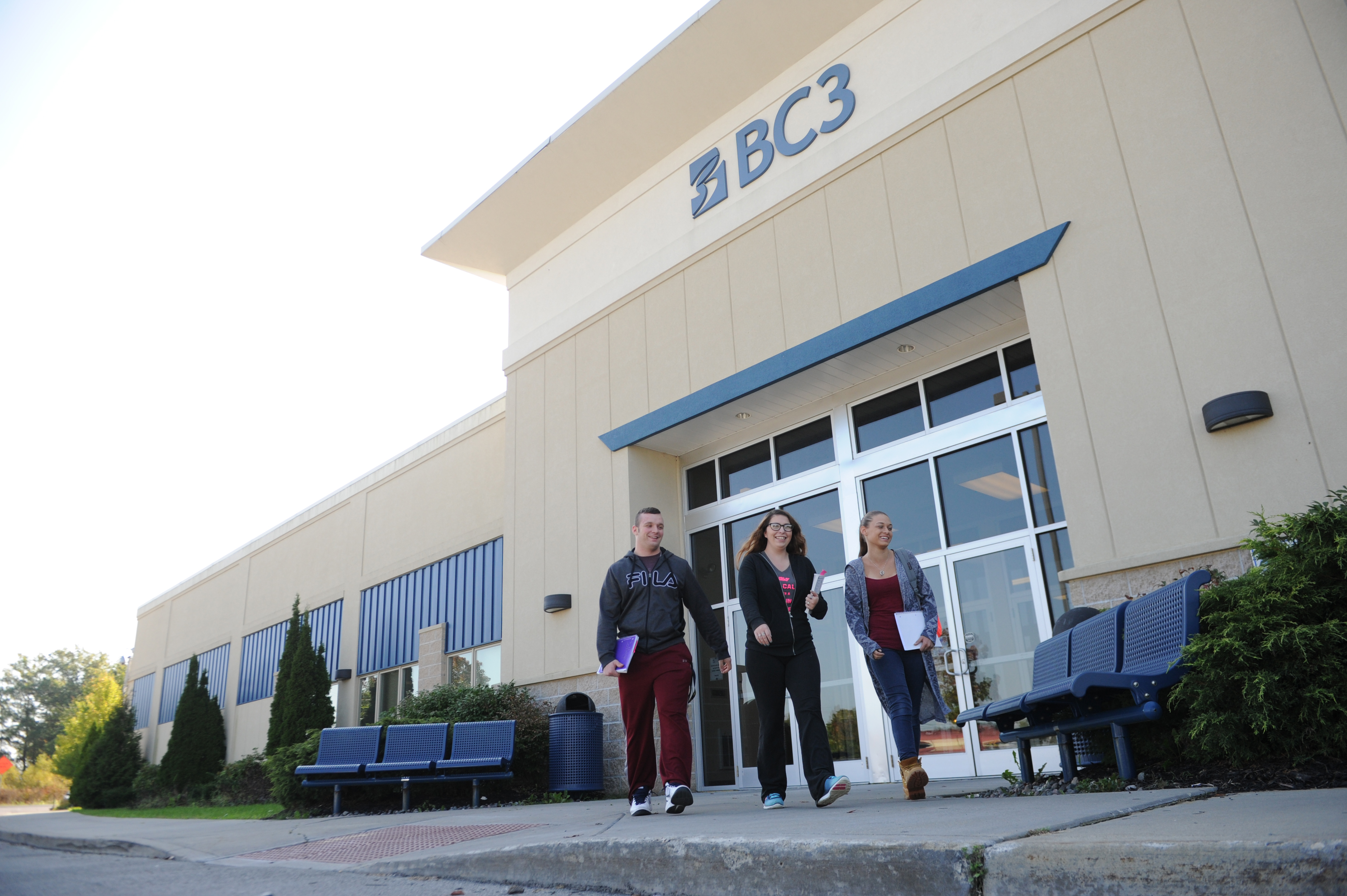 Bc3 no 1 again among states 14 community colleges ellwood city bc3 lawrence crossing students are shown at the butler county community college off campus site in new castle xflitez Choice Image